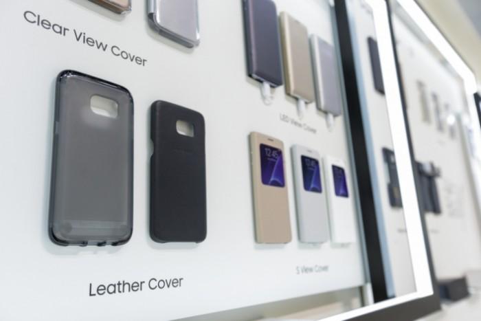 Samsungilta Galaxy S7:lle tulossa olevia erilaisia lisäkuoria.