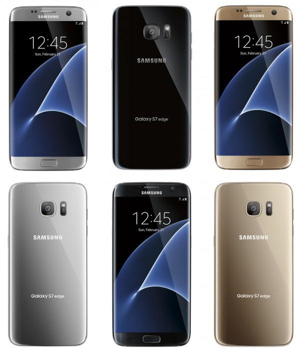 Samsung Galaxy S7 edge lehdistökuvissa Evan Blassin julkaisemassa kuvassa