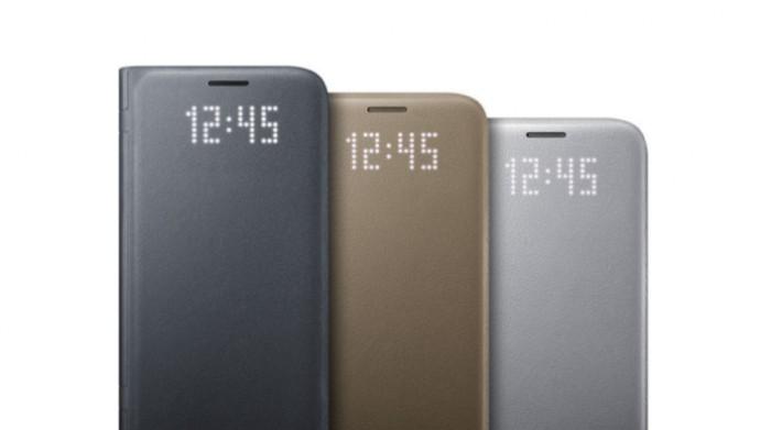 Samsungin Galaxy S7:lle tulee tarjolle myös Led View -kuori.
