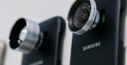 Galaxy S7:n kameralinssikuoret Samsungilta tuovat telefotoa ja laajakulmaa.