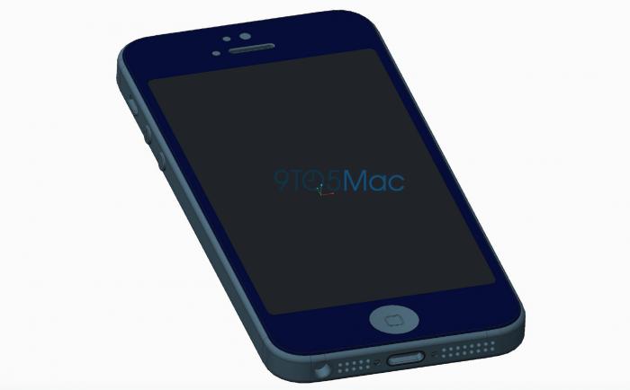 9to5Macin kuvissa iPhone 5se muistuttaa hyvin paljon iPhone 5s:ää.