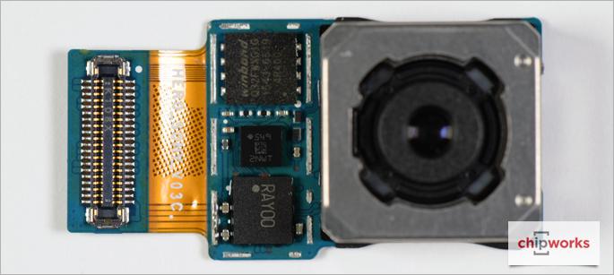 Galaxy S7 edgen takakamera.