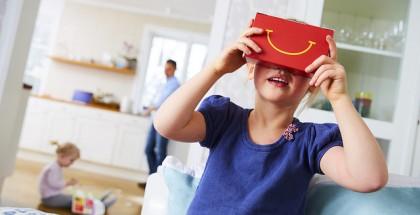 McDonald's Happy Goggles