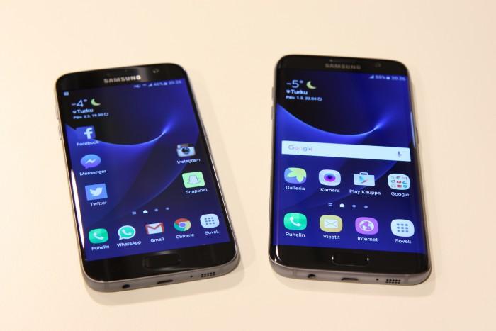 Galaxy S7 ja Galaxy S7 edge saavat nyt päivityksen.