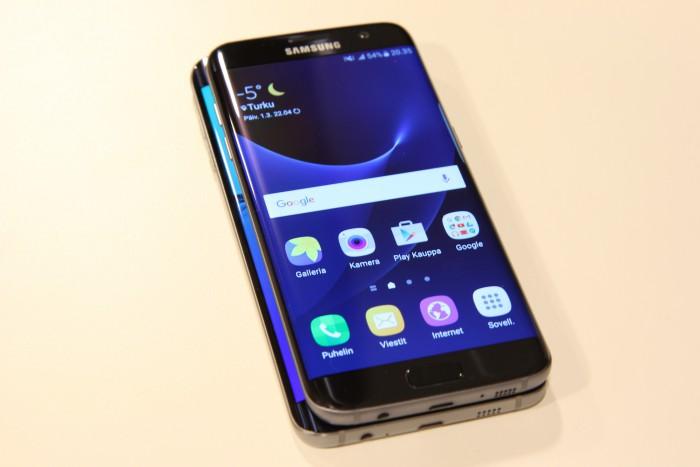 Samsung Galaxy S6 edge+ ja S7 edge