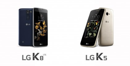 LG k5 ja K8