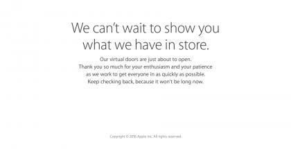 Apple Store on tuttuun tapaan suljettu ennen uusien tuotteiden julkistusta.