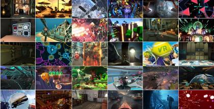 Oculus Riftin pelivalikoima julkaisun aikaan.
