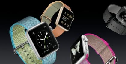 Apple on piristänyt Watch-mallistoaan uusilla rannekkeilla, muun muassa eri värisillä nailon-rannekkeilla.