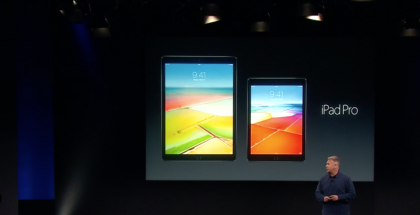 12,9 tuuman iPad Pro sai viime vuonna rinnalleen 9,7-tuumaisen iPad Pron.