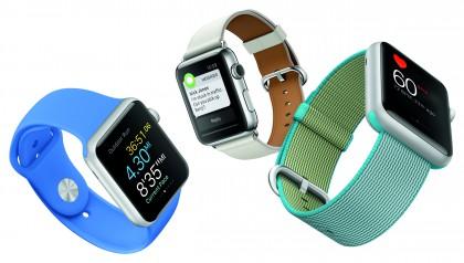 Nykyinen Apple Watch.