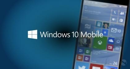 Windows 10 Mobile.