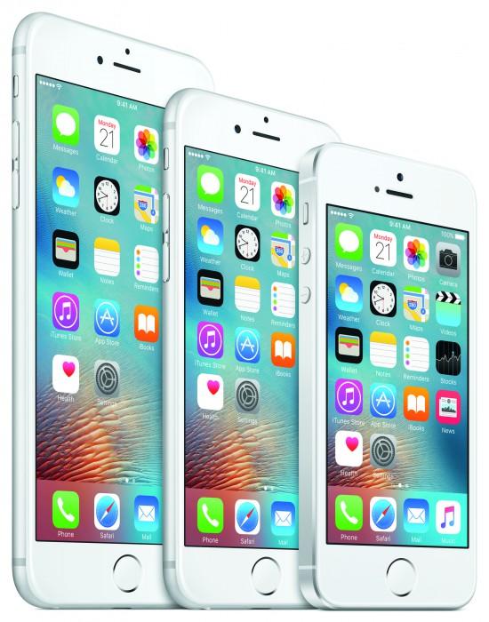 iPhone-mallisto kevät 2016