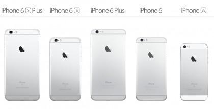 iPhone-valikoima keväälle 2016.