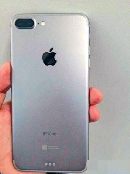 Vuotokuvassa väitetty iPhone 7 Plus.