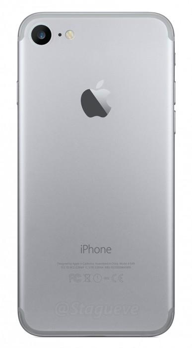 Onko iPhone 7 takaa tämän näköinen? Toistaiseksi huhujen parhaan näkemyksen mukaan on.