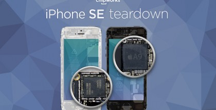 iPhone SE Chipworks