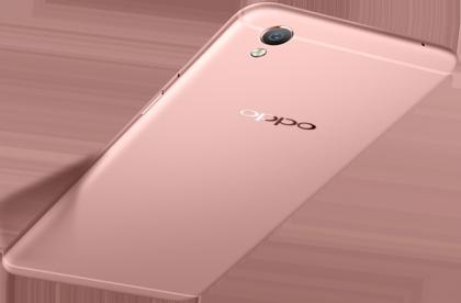 Tyylinäyte älypuhelinmarkkinoiden kovalta kasvajalta OPPOlta: R9-puhelimen design muistuttaa huomattavasti Applen iPhonea.