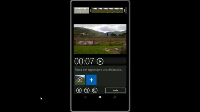 Videoleikkaustoiminto WhatsAppin Windows-versiossa.