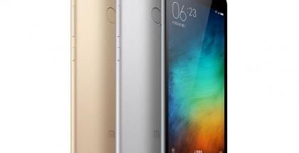 Xiaomi Redmi 3 Pro eri värivaihtoehtoineen.