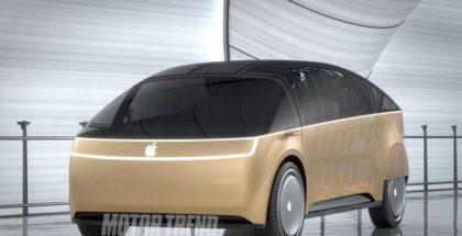 Motor Trendin kuvittelema Apple-auto.