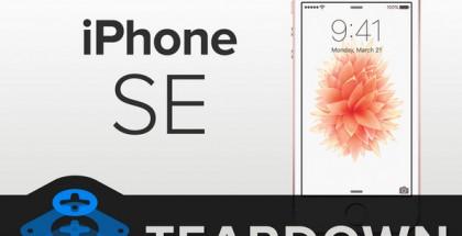 iFixit katsoi mistä iPhone SE on tehty.