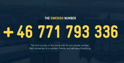 Ruotsin puhelinnumero, The Swedish Number