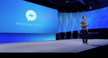 Messenger Platform, eli bottialusta, on Facebookin suurin uutinen F8:ssa.