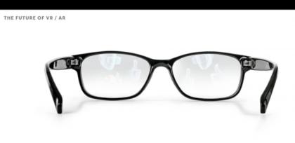 Facebook visioi tulevaisuutta, jossa virtuaalitodellisuus ja lisätty todellisuus tulevat pienemmmäksi ja pienemmäksi, kuten tässä näkyviin laseihin.