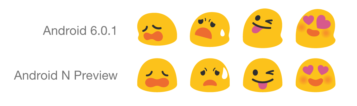 Tutut emojit saavat yhtenäisemmän muotoilun.