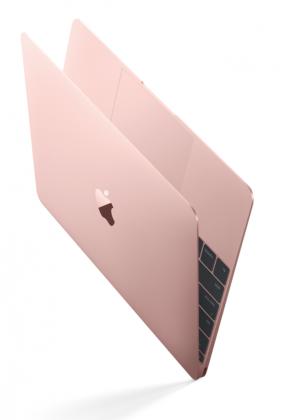 Applen MacBookin on keväästä asti saanut myös ruusukultaisena.