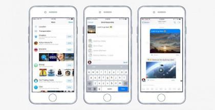 Dropbox-tiedostojen jakaminen Facebook Messengerissä on nyt aiempaa suoraviivaisempaa.
