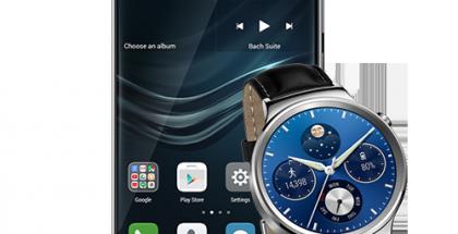 Huawei P9:n ennakkotilaajat saavat Huawei Watchin kaupan päälle.