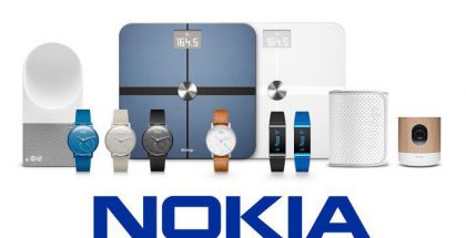 Nokia + Withings.
