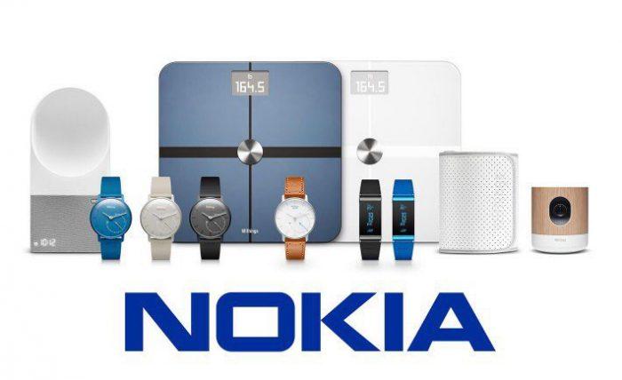 Withingsiltä Nokialle periytyneitä laitteita.