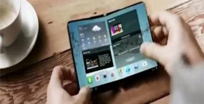 Samsungin konseptivideo on esitellyt taittuvanäyttöistä laitetta.