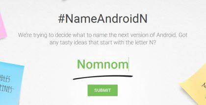 Google kerää nyt Android N -nimiehdotuksia kansalta.