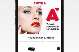Anttila julkaisi mobiilisovelluksen.