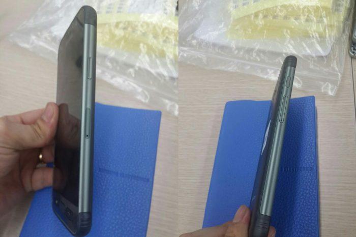 Galaxy S7 activen toimintonäppäimet ovat fyysisiä.