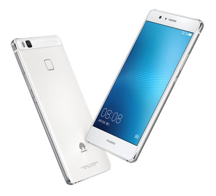 Huawei G9 Lite valkoisena.