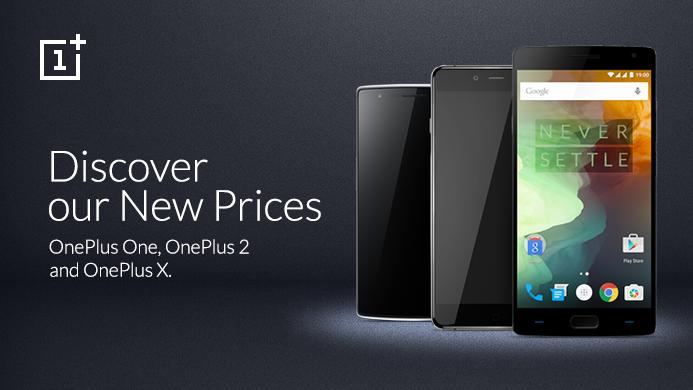 OnePlus-puhelinten hinnat laskivat.