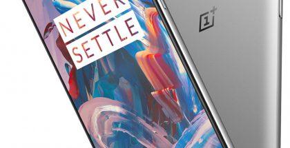 Metallikuorinen OnePlus 3 aiemmin vuotaneessa tuotekuvassa.