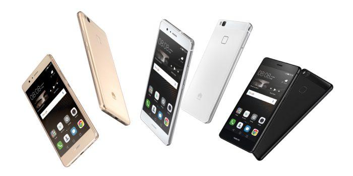 Huawei P9 Lite kolmessa värissä.