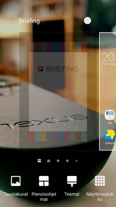 Samsung Briefing