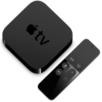 Nykyinen Apple TV.
