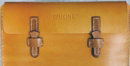 Kiinalainen IPHONE-nahkalaukku