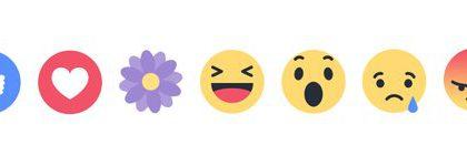 Äitienpäivää voi mahdollisesti juhlistaa Facebookissa kukkareaktiolla.