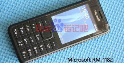 RM-1182 saattoi sittenkin olla Microsoft-brändätty peruspuhelin
