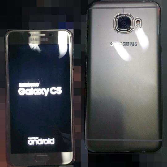 Vuotokuvassa Samsung Galaxy C5