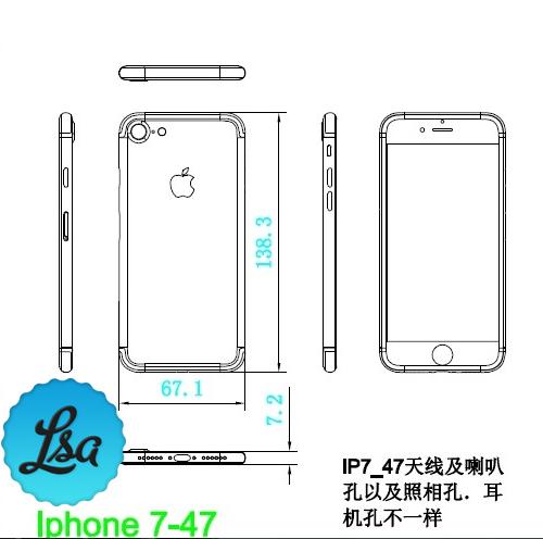 iPhone 7 kaavakuva